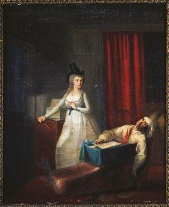 Ζαν Ζακ Χάουερ, Ο Θάνατος του Μαρά, άγνωστη ημερομηνία