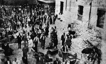 Η κατάρρευση των φυλακών Ωρωπού <br/>με τον σεισμό του 1938