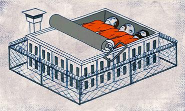 Υπερπληθυσμός των φυλακών: <br/>Η ανισοκατανομή ενός παλιρροϊκού φαινομένου